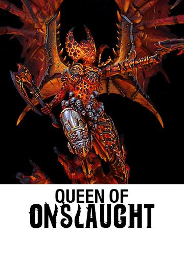 Queen of Onslaught Available Now